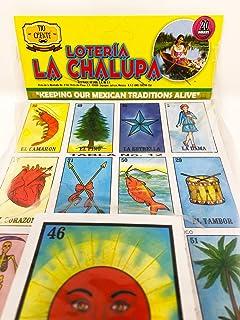 La Chalupas Loteria Mexican Bingo Board Game by Tio Chente
