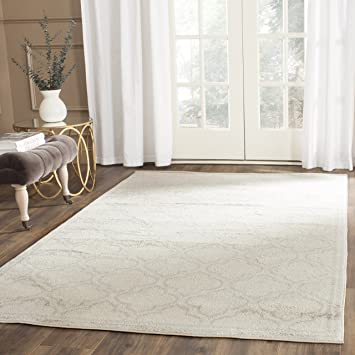 Amazon Com Safavieh Amherst Collection Amt412e Ivory And Light Grey