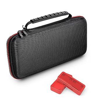 Portable Hard Shell Fall Für Schalter Konsole Carbon Faser Pouchtravel Tasche Unterhaltungselektronik Taschen