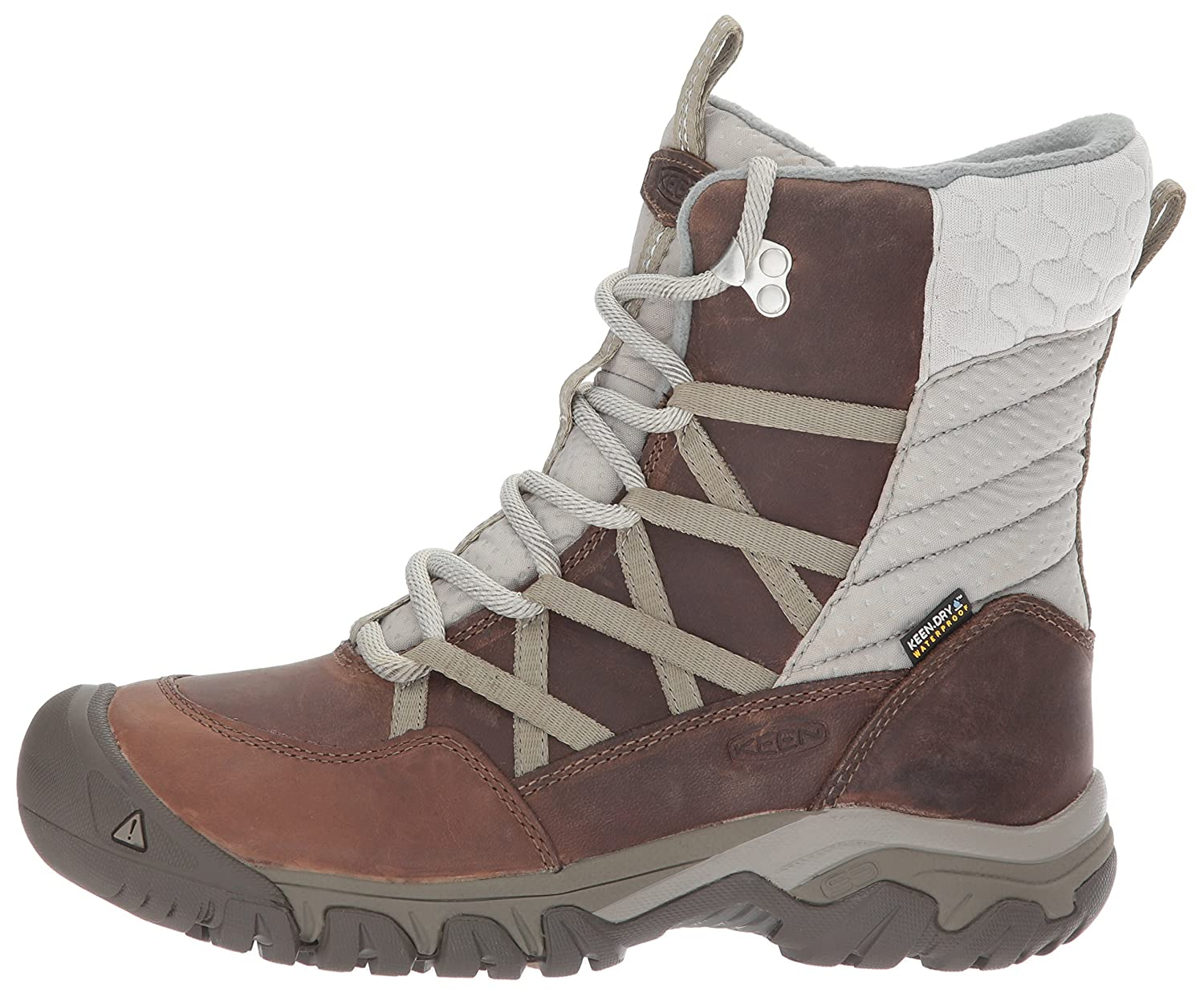 KEEN Women's Hoodoo III Lace up-w B(M) Snow Boot B01MSNIIBS 6 B(M) up-w US|Coconut/Plaza Taupe c46c0c
