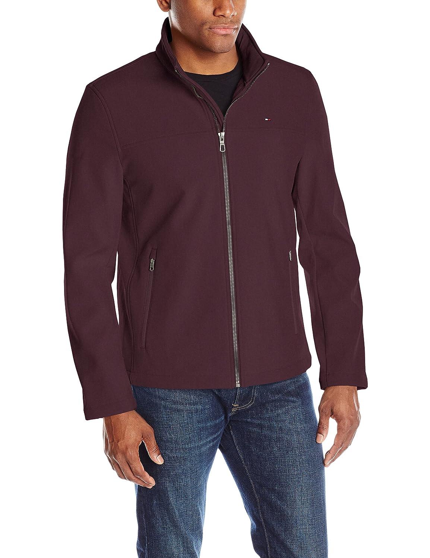 Tommy Hilfiger Men's Zip Front Classic Soft Shell Jacket 155AP287