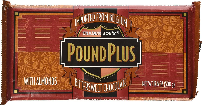 Amazon.com : Trader Joe's Pound Plus Bittersweet Chocolate with ...
