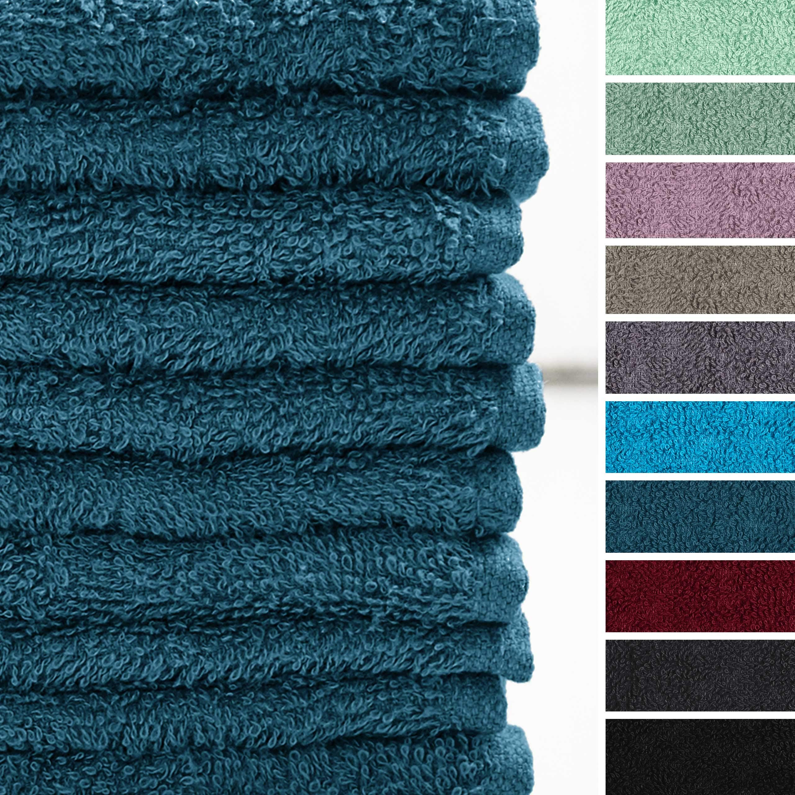 Lumaland Premium Set 10 Toallitas Suaves bidet30 x 30cm 100% algodón 420 g/m²