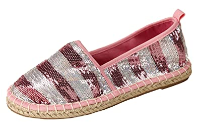 ec84db52be7 Pepstep Women s Sequins Flats Fashion Slip On Sneakers Loafer Shoes (6
