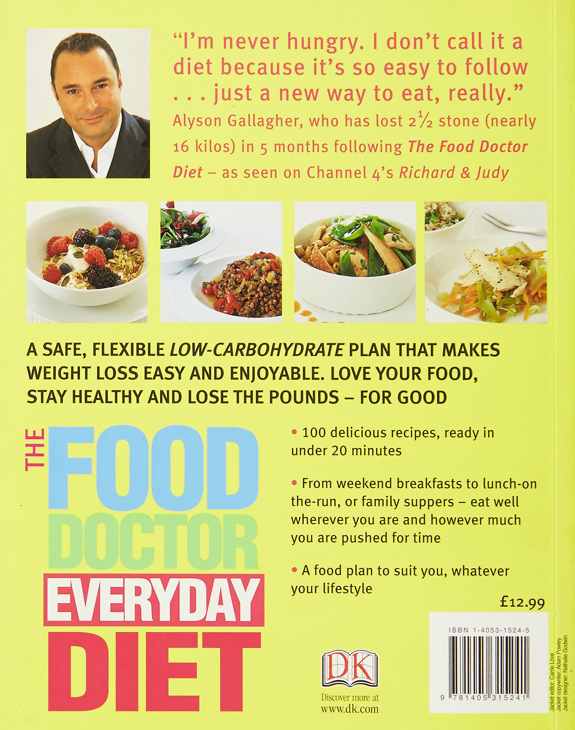 The food doctor everyday diet amazon ian marber the food doctor everyday diet amazon ian marber 9781405306058 books forumfinder Choice Image