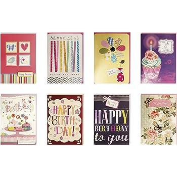 Amazon Birthday Cards Assorted Handmade Embellished Cards Box