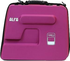 Alfa Funda para Maquina de Coser NEXTtoYOU, Morado, 38 X 22 X32 Cm