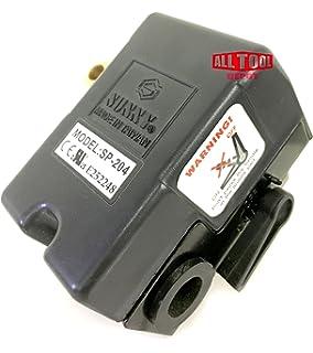 Replacement Air Compressor Pressure Switch Sunny L4 4 Port 95 125 Psi 25 Amp Amazon Com