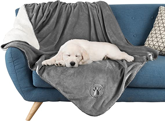 XS, Gray Star Pet Blanket,Pet Throw Soft Blanket for Dog Cat Bed Rest,Washable Pet Cushion Soft Warm Sleep Mat,Pet Breathable Material Snuggly Mat,Pet Fleece Blanket for Couch Sofa Bed