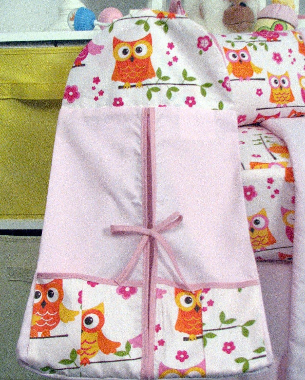 Owl baby bedding - Amazon Com Soho Pink Dancing Owl Baby Crib Nursery Bedding Set With Diaper Bag 14 Pcs Set Baby