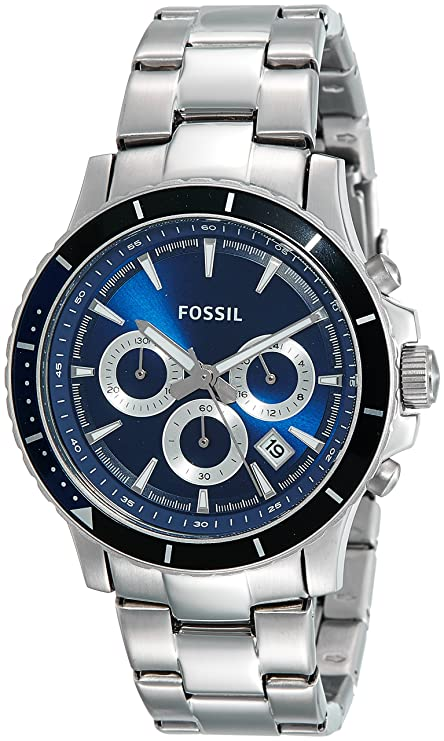 Fossil Briggs Chronograph Blue Dial Men's Watch   CH2927I Men's Watches