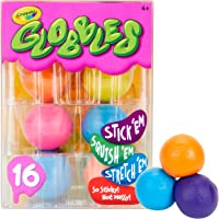 Crayola Globbles 16 Count, Squish & Fidget Toys, Gift for Kids, Age 4, 5, 6, 7, 8