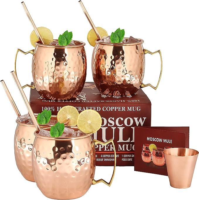 Image of Copper Mugs