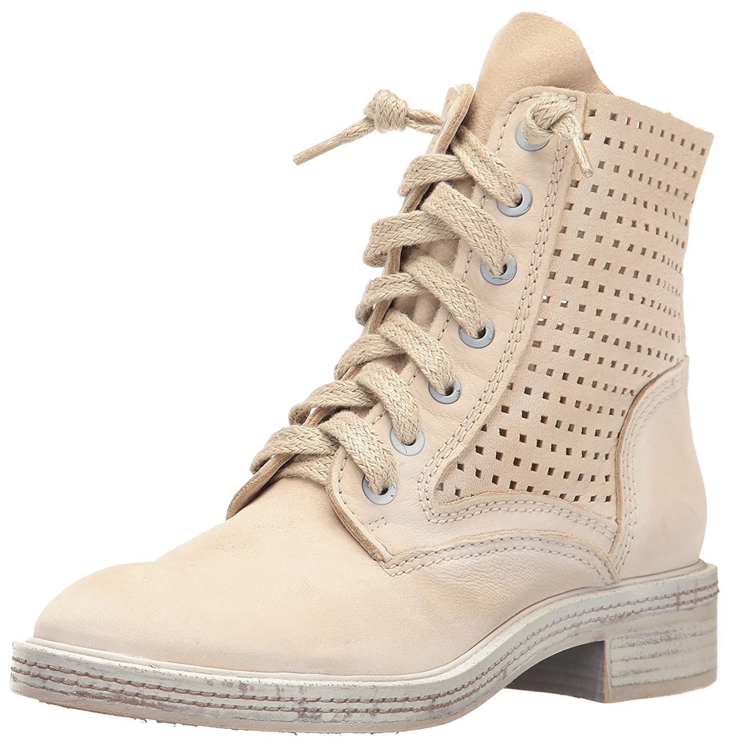 Dolce Vita Women's Aldis Combat Boot B01N41XPTS 9.5 B(M) US|Sand Perforated Nubuck
