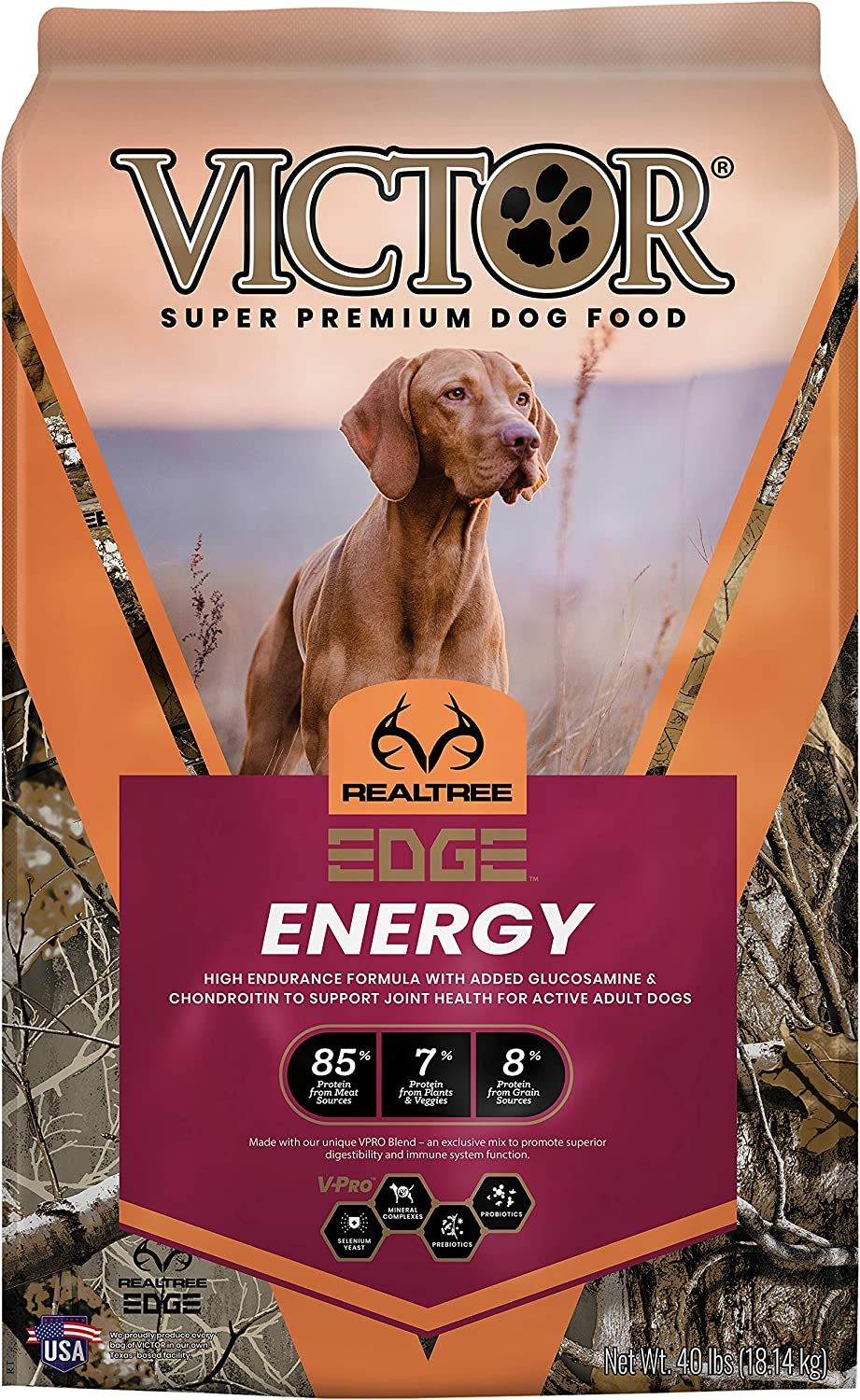 VICTOR REALTREE EDGE ENERGY, Dry Dog Food