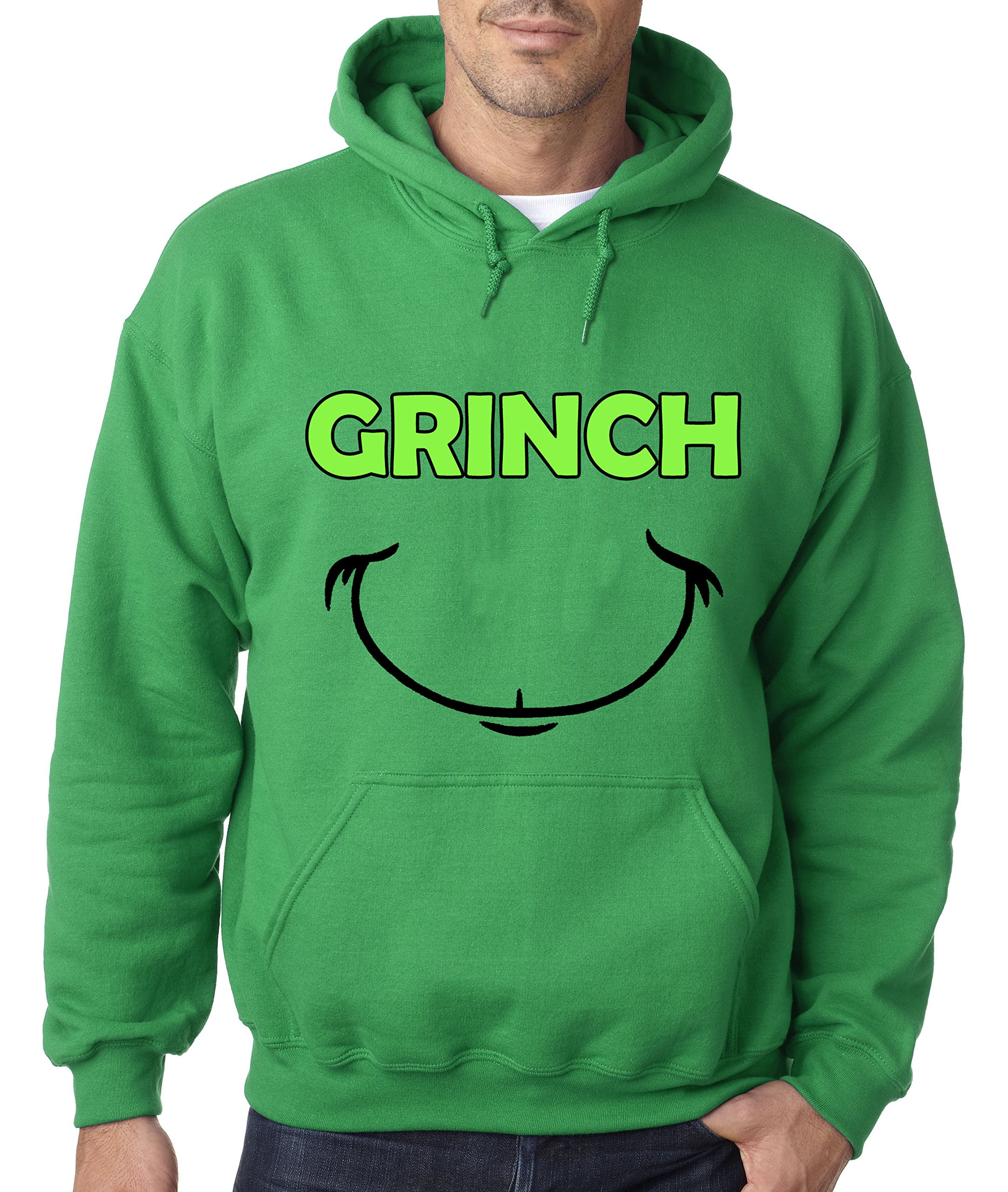 Check Out This Awesome 605 Grinch Smile Christmas Unisex Pullover Sweatsh Shirts