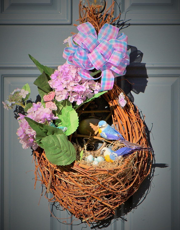 Amazon Com Spring Door Decor Mother S Day Gift Floral Door Decor