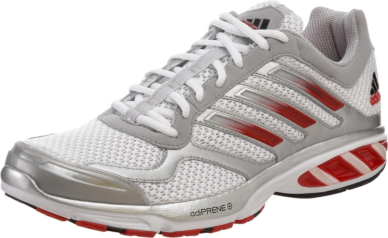 India salto recuerdos  adidas Men's Ozweego Running Shoe, Running White/Red/Metallic Silver, 6.5 M  US | Running - Amazon.com