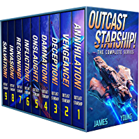 Outcast Starship: The Complete Series (Books 1-9) (English Edition)