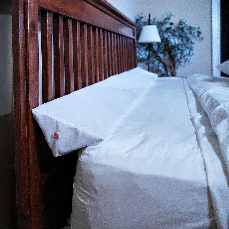SnugStop Pillow Case Bed Headboard Wedge Mattress Wedge Pillow Case Pillow Case Twin