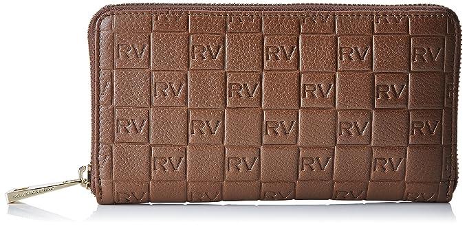 Roberto Verino Cartera piel vacuno para mujer, color marrón (brown 07), talla única: Amazon.es: Ropa y accesorios