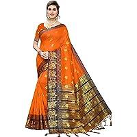 Anni Designer Kanjivaram Silk Woven Saree With Blouse Piece
