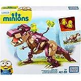 Minions - Dinosaurio 421 piezas, multicolor (Mega Brands 601161)