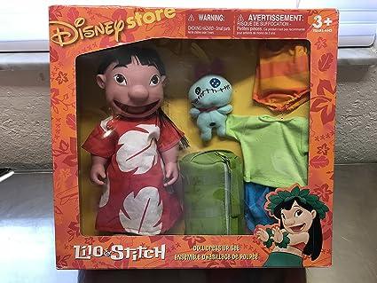 Amazon Com Lilo Stitch Doll Dress Up Set Toys Games