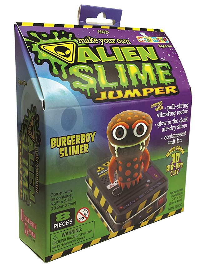 Amazon.com: Alien Slime Jumpers, Goopy Slimer: Toys & Games