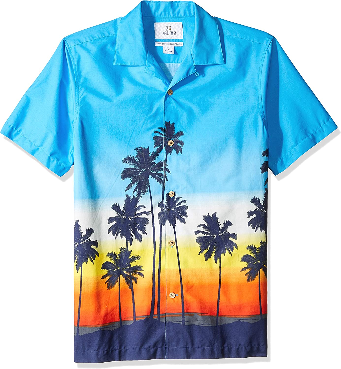 80s Men's Clothing | Shirts, Jeans, Jackets for Guys Amazon Brand - 28 Palms Mens Standard-Fit 100% Cotton Tropical Hawaiian Shirt $23.00 AT vintagedancer.com