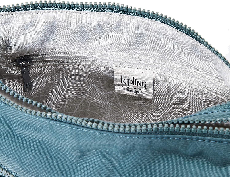 Kipling Women's Alvar Cross-Body Bag Green (Light Aloe)