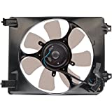 Dorman 621-011 A/C Condenser Fan Assembly for Select Honda Models, Black