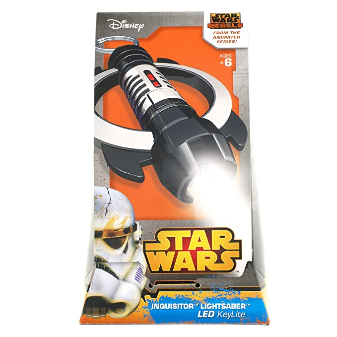 Amazon.com: Star Wars Rebels Inquisitor Lightsaber KeyLite ...