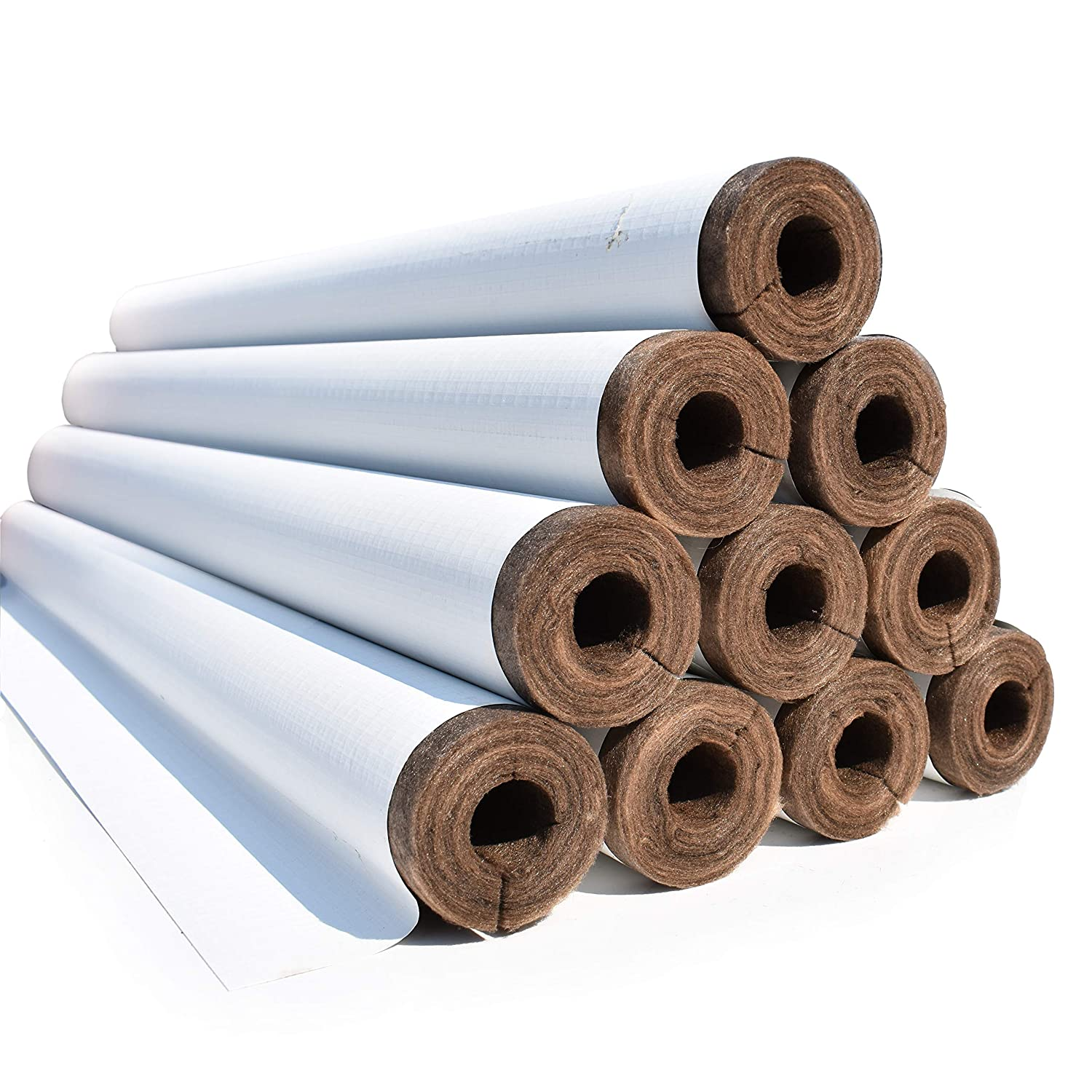 Fiberglass Pipe Insulation /(3 x 1 1//2/) with ECOSE