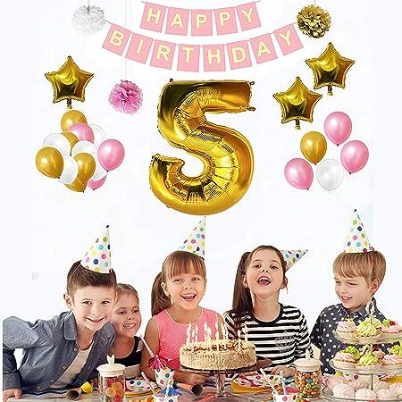 5th Birthday Decorations 32 Pcs