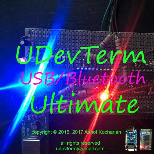 Amazon com: COM USB SPP Bluetooth BLE Color Terminal Modem