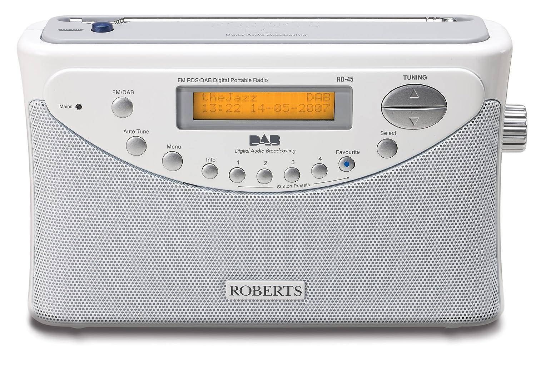 roberts rd45 dab fm radio white amazon co uk tv rh amazon co uk