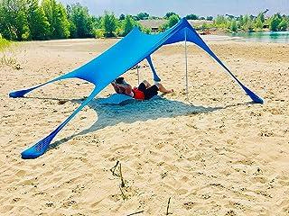 BeachMonkey Tente de Plage Hit 2018d'été * * * * Nouveau rot 2x2m .