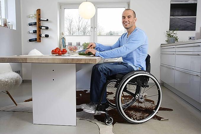 ottobock Voyager Evo Manual Silla de ruedas - titanio marco activo: Amazon.es: Salud y cuidado personal