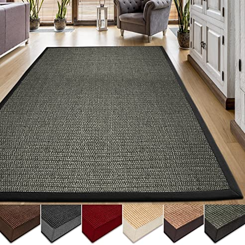 teppich sisal simple modern with teppich sisal cheap sisal teppich coarse cm grau schwarz with. Black Bedroom Furniture Sets. Home Design Ideas