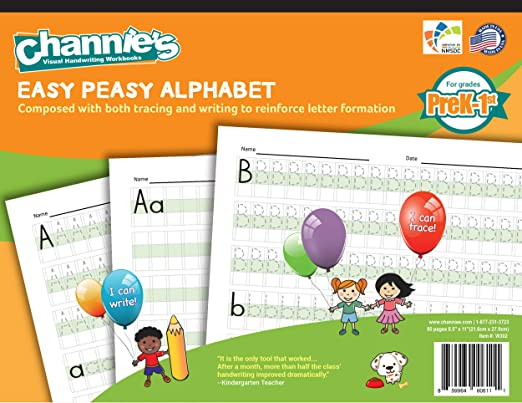 Amazon.com : Simplify Alphabet and handwriting learning. Visual ...