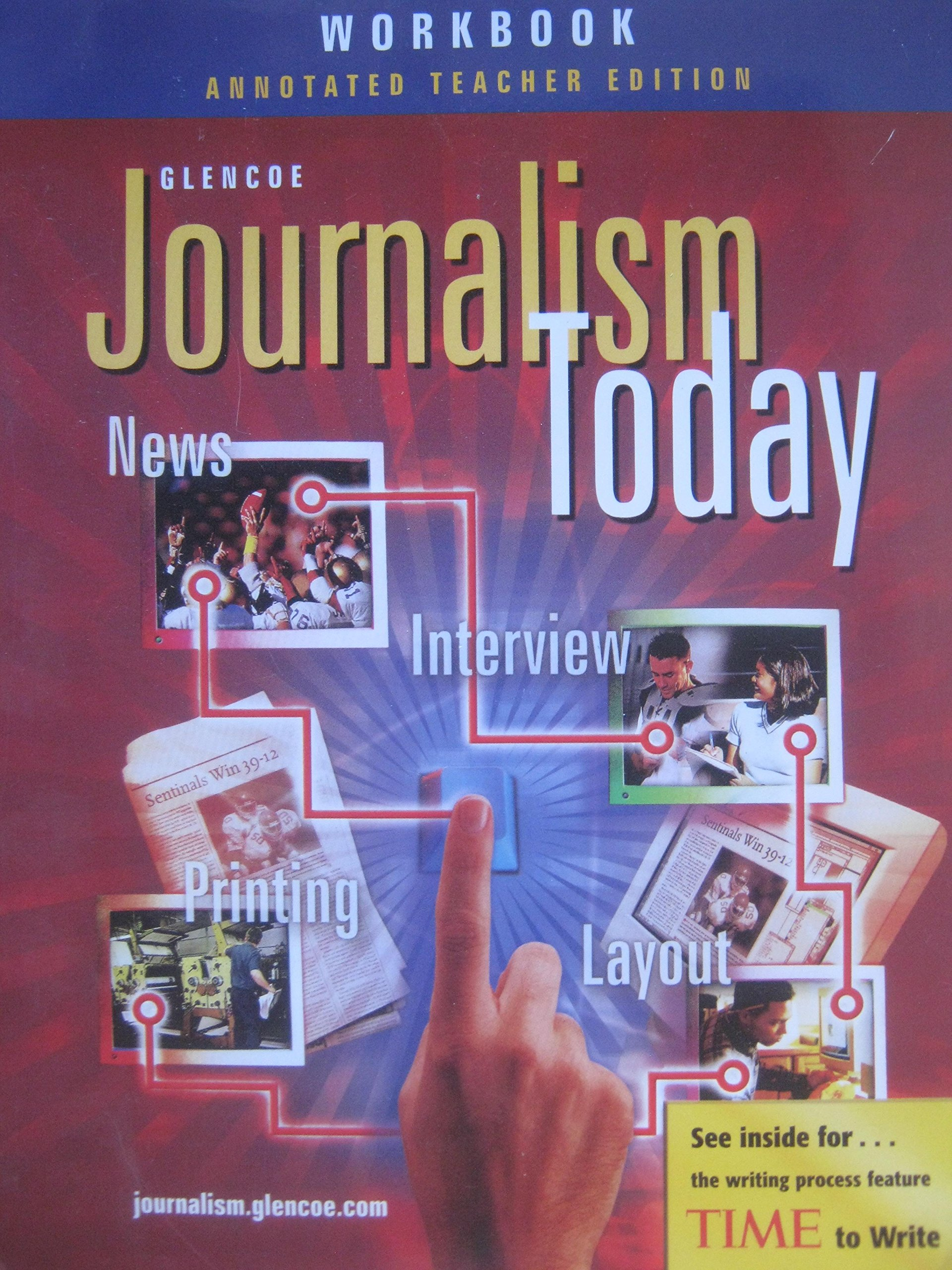 Download Journalism Today : Workbook Annotated Teacher Edition pdf epub