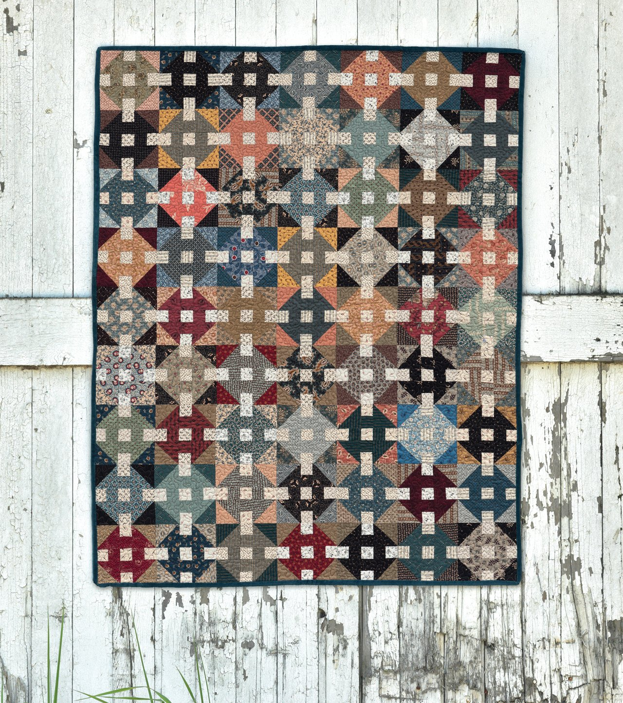 The Blue And The Gray Quilt Patterns Using Civil War Fabrics Mary
