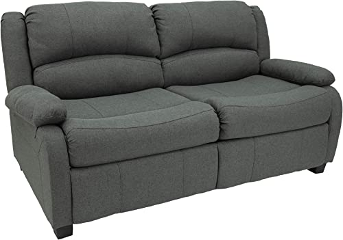 RecPro 65″ RV Hide A Bed Loveseat | RV Sleeper Sofa | Cloth | Memory Foam Mattress | Pull Out Couch | RV Furniture | RV Loveseat | RV Living Room Furniture | RV Couch Fossil - a good cheap living room sofa
