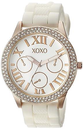 Amazon.com: XOXO xo8088 de la mujer reloj de cuarzo ...