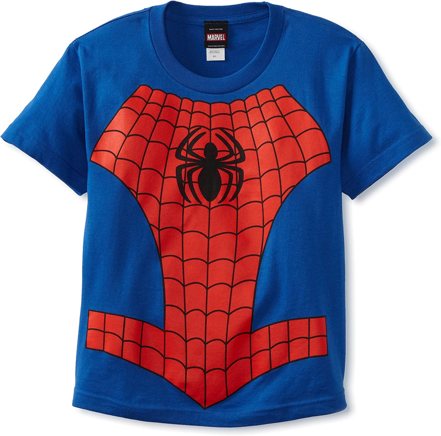 Marvel Spider Man Boys No Cape Toddler Kids T-Shirt New Tee Licensed /& Official