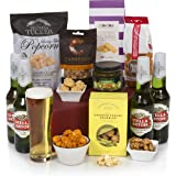 The Classic Beer Hamper - Beer Hampers & Men's Gift Baskets -Stella Artois Beer with Gourmet Food Gifts For Him