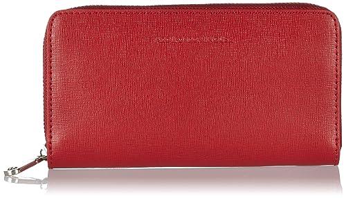 Adolfo Dominguez - Cartera de mano para mujer, color rojo: Amazon.es: Zapatos y complementos