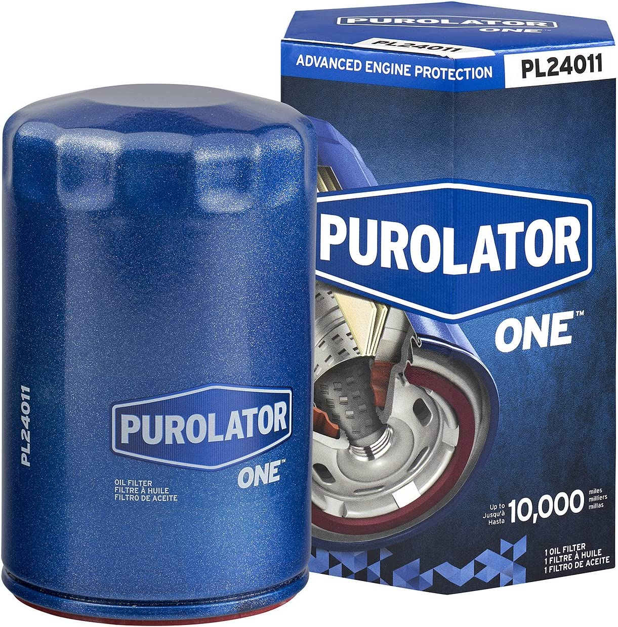 PurolatorONE Advanced Engine Protection Spin On Oil Filter