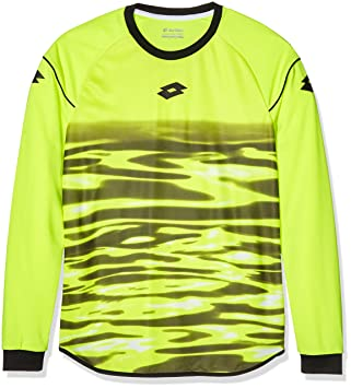 Lotto LS Cross GK - Camiseta para Hombre, Color Amarillo, Talla XXL